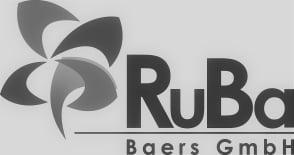 RuBa_Baers_GmbH_Logo_zwart wit 207x155