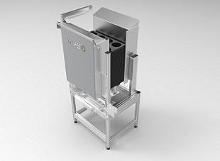Grote capaciteit door automatische stapelbuffer • Past zich aan aan de grootte van de tray