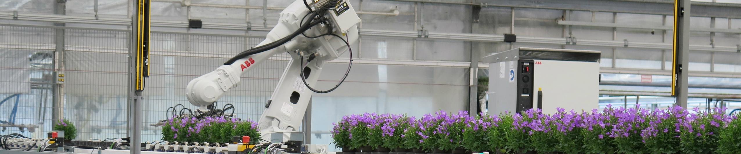 Innovationen Robotik & Daten im Gewächshausgartenbau auf der Karte