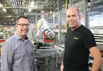 KP Holland ready for the future with unique packing robot