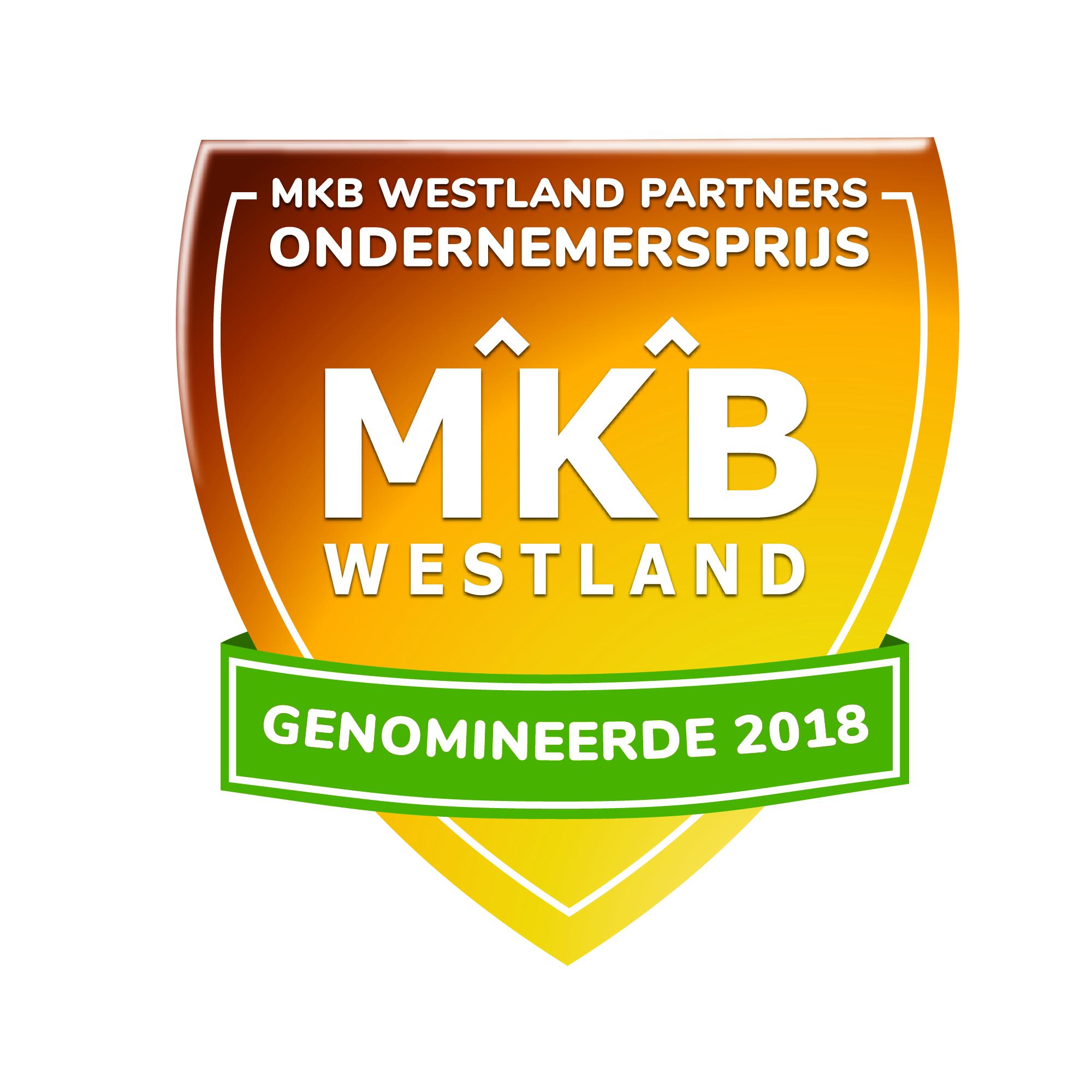 WPS genomineerd voor de MKB Westland Partners Ondernemersprijs 2018