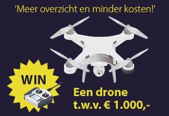 Plan nu een afspraak in en maak kans op een drone